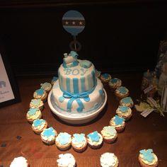 Baby boy cake, baby shower cake, christening cake, baby boy, new baby cake