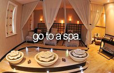 Go to a Spa for a full day of no speaking for a week end re treat.