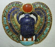 Scarab beetle belonging to King Tutenkamun
