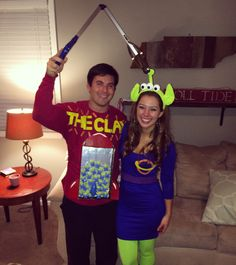 toy story couple costume - Toy Story Alien Halloween Costume