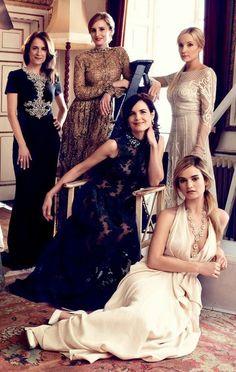 lesbeehive:  Les Beehive – Downton Abbey Ladies by Alexi...