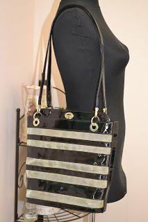 Handmade, Vintage - Pixalia - haine si accesorii faine: Geanta din piele lacuita