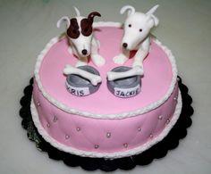 #cagnolini #torta della pasticceria La Mimosa di http://www.simocakedesigner.it