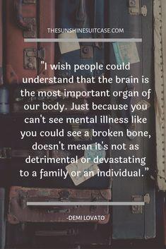 Mental Illness Stigma, Mental Illness Quotes, Mental Health Stigma, Mental Health Recovery, Mental Health Awareness Month, Mental And Emotional Health, Mental Health Quotes, Mental Health First Aid, Kids Mental Health