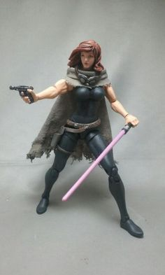 Mara Jade Skywalker - Black Series Custom Action Figure