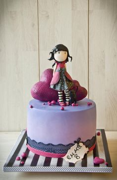 Gorjuss cake....again! - Cake by Maria Schick