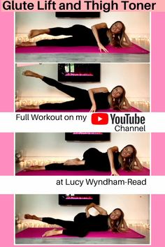 Toning Workouts, Easy Workouts, At Home Workouts, Fitness Workout For Women, Fitness Diet, Thigh Toner, 30 Day Workout Challenge, Channel, Workout Videos