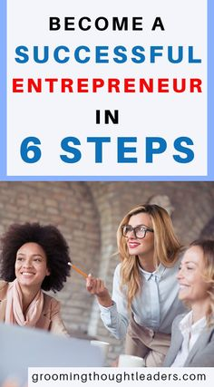 Here's an amazing post on how to become an entrepreneur in 6 steps. With additional quotes and advice from the world's top entrepreneurs and a deep dive on the rise of entrepreneurs in the 21st century. This is a must read! Check out these solid tips Now.  #becomeanentrepreneur #entrepreneurship #entrepreneursquotes #howtobecomesuccessful
