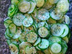 Sunomono Simples (salada de pepino japon�s)