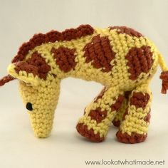 Gendry the Giraffe - Free NEW Pattern by Anette Bak and Dedri Uys of Look At What I Made