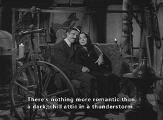 Halloween-Gomez and Morticia Addams