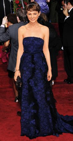 200 Celebrity Looks We Love - Carey Mulligan in Nina Ricci, 2010 from #InStyle