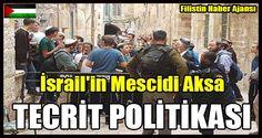 Son olarak işgal güçleri Kudüs'teki İslami Vakıflar Dairesiistihbarat başkanını bugün El Aksa'dan atma kararı aldı.  Kudüs'teki İslami vakfın istihbaratbaşkanı Tarık HaşlemunKudüs Basına verdiği demeçte,   #filistin #israil mescidi aksa #israil uzaklaştırma #kudüs islami vakıflar #mescidi aksa yasak