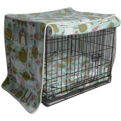 Super cute crate covers in lot of fun prints. Also Crate Cover kits that come with a bed! Mollymutt.com