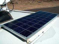 Solar Power for dummies !!   One of our Kyocera 120W modules