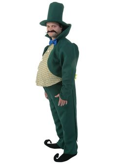 This Adult Munchkin Mayor Costume will make you the head Munchkin in the Land of Oz. This is an exclusive costume.
