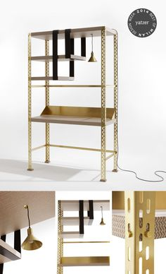 SCAFFALE D'ARTE by Studio Federico Peri. The transformation of an industrial shelf. http://www.yatzer.com/best-of-milan-design-week-2014