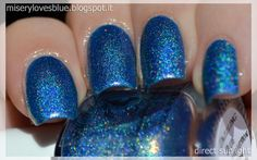 F.U.N. Lacquer Dazzling Blue [Holothon 2.0] by QueenMiSeRy http://miserylovesblue.blogspot.it/2014/07/fun-lacquer-dazzling-blue-holothon-20.html