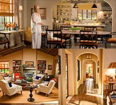 "Ranch style home in ""It's Complicated"" with Meryl Streep is perfection! Large chef's kitchen, open layout, and traditional cozy decor."