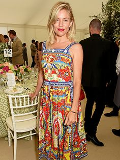 Star Tracks: Saturday, June 11, 2016 | POLO PAL | Sienna Miller attended the Cartier Queen's Cup Final at Guards Polo Club in Egham, England, on Saturday.