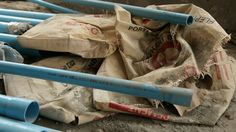 Cement bags are not recycled in Cambodia due to a lack of waste management.  Thats why we do it!