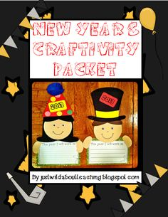 Free Printable: New Years Craft Packet | Dollar Store Mom Frugal Fun – Crafts for Kids