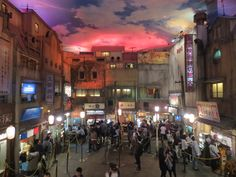 YOKOHAMA - Ramen museum (foodcourt) 280¥ entrance fee. get discount brochure from info centre at shinyokohama station