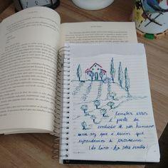Ensaio de desenho com citações