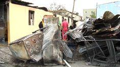 Fuego arrasa con tres casas y varios vehículos en Camboya Santiago