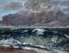 LA VAGUE - GUSTAVE COURBET