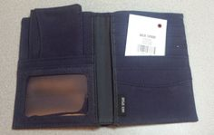 Jack Spade Men's Passport size #wallet with small portable wallet Blue NWT visit our ebay store at  http://stores.ebay.com/esquirestore
