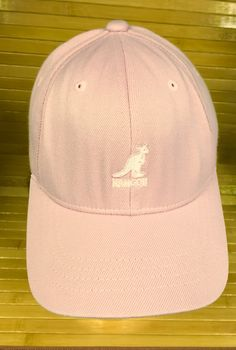 Kangol Pink Fitted Cap Size S/M by CoryCranksOutHats on Etsy