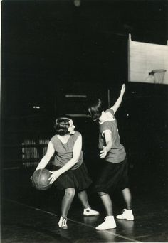 Women at Beloit first shot hoops in 1896, only a year after the college became coeducational and only five years after James Naismith invented basketball. (Beloit college photo donated by Bob Henert estate)