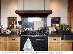 Home - Riverdale Rustic Wood Cabinets, Black Granite Countertops, Cabinet Fronts, Cocinas Kitchen, Cozy Kitchen, Love Your Home, First Home, Kitchen Styling, Home And Living