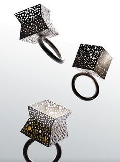 rings by Min-Ling Hsieh - seen on The Carrotbox modern jewellery blog and shop — obsessed with rings