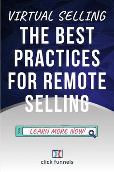 Virtual selling is an effective way to sell products and services without actually being there. Remote salespeople can create a similar effect as if they were in the same room with clients. In this post, we're going to go over some of the best practices for remote selling! Click through now!#makemoneyonline#marketingideas Small Business Marketing, Sales And Marketing, Internet Marketing, Online Marketing, Marketing Ideas, Technology Problems, Sales Presentation, The Secret Book, Best Practice