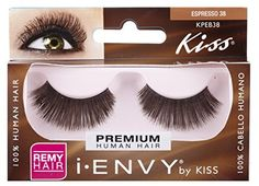 da61257115f Kiss I Envy Espresso 38 Lashes 6 Pack -- You can get more details by  clicking on the image. (Note:Amazon affiliate link). Makeup Wonder