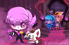 Mystery Skulls - Ghost by witchpaws.deviantart.com on @deviantART