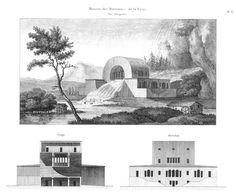 Claude Nicolas Ledoux Architecture Drawings, Interior Architecture, Interior Design, Claude Nicolas Ledoux, Mount Rushmore, Taj Mahal, Mountains, Building, Travel