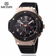 Megir Sport Quartz Clock Mens Watches Top Brand Luxury Chronograph Quartz-watch Silicone Gold Male Wristwatch Relogio Masculino $39   => Save up to 60% and Free Shipping => Order Now! #fashion #woman #shop #diy  http://www.greatwatch.net/product/megir-sport-quartz-clock-mens-watches-top-brand-luxury-chronograph-quartz-watch-silicone-gold-male-wristwatch-relogio-masculino/