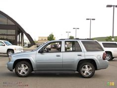 2006 Chevy Trailblazer LT ours was green with silver trim