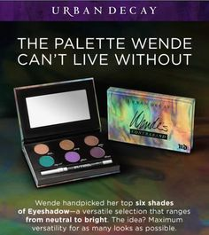 NEW! Urban Decay Wende's Contraband Eyeshadow Palette
