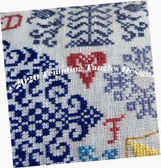 Tea Time Glass Beads Treasure Goddess Creations Pink and Purple Counted Cross Stitch Beaded Tea Pot Cross Stitch and Bead Kit