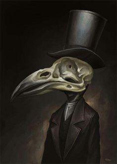 Bird skull man~