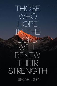 Hope in the LORD, the faithful King.