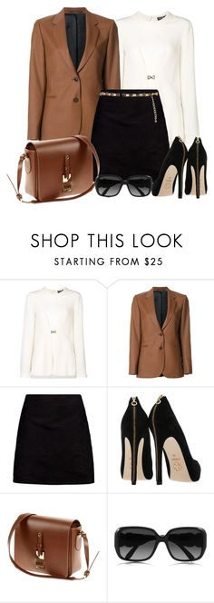 """Work wear"" by gallant81 ❤ liked on Polyvore featuring Salvatore Ferragamo, Paul Smith, Boohoo, Chloé and River Island"