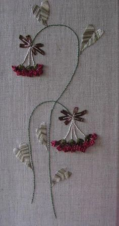 Wonderful Ribbon Embroidery Flowers by Hand Ideas. Enchanting Ribbon Embroidery Flowers by Hand Ideas. Flower Embroidery Designs, Creative Embroidery, Hand Embroidery Patterns, Embroidery Kits, Cross Stitch Embroidery, Embroidery Supplies, Japanese Embroidery, Art Patterns, Embroidery Companies