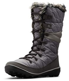 Columbia Women's Heavenly Omni-Heat Snow Boot - Shoosly #TacticalBoots #Footwear #Boots #shoes #fashion #casual #casualshoes #workwear #workboots #workshoe #boots Thick Socks, Snow Boots Women, Columbia Sportswear, Faux Fur Collar, Casual Shoes, Casual Pants, Waterproof Boots, Lace Up Boots, Combat Boots