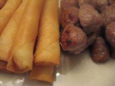 Miss.Adventure @Home: Mom's Recipes: Nem Nướng & Ram Tôm Cuốn (Pork Meatballs & Shrimp Spring Rolls)