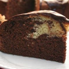Becolade Chocolate Marble Cake Recipe -  **Recipe is from The Prepared Pantry...  http://www.preparedpantry.com